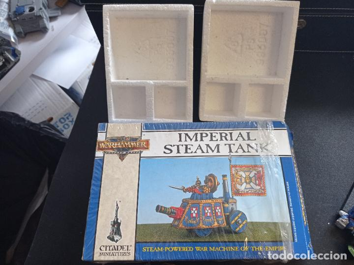 Juegos Antiguos: Warhammer Fantasy Battle Imperial Steam Tank - Foto 4 - 265457364