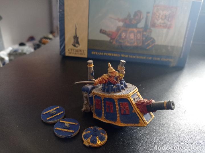 WARHAMMER FANTASY BATTLE IMPERIAL STEAM TANK (Juguetes - Rol y Estrategia - Warhammer)