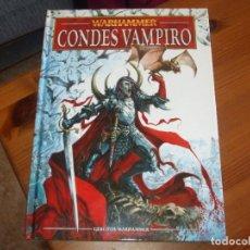 Juegos Antiguos: WARHAMMER FANTASY (OLDHAMMER): LIBRO DE EJERCITO CONDES VAMPIRO CODEX. Lote 267281804