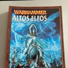 Juegos Antiguos: WARHAMMER ALTOS ELFOS.. Lote 268911099