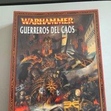 Juegos Antiguos: WARHAMMER. GUERREROS DEL CAOS. LIBRO 2010. Lote 268911319