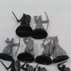 Juegos Antiguos: LOTE 1O MINIATURAS ELFOS, GONDOR ESDLA WARHAMMER. Lote 269214218
