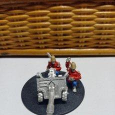 Juegos Antiguos: WARHAMMER 40000 GUARDIA IMPERIAL PRETORIAN DOTACION ARMA PESADA 51. Lote 269227113