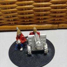 Juegos Antiguos: WARHAMMER 40000 GUARDIA IMPERIAL PRETORIAN DOTACION ARMA PESADA 52. Lote 269227153