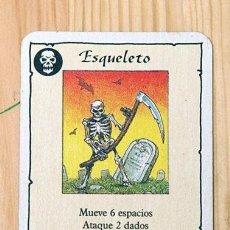 Giochi Antichi: HEROQUEST CARTA ESQUELETO. Lote 269245528