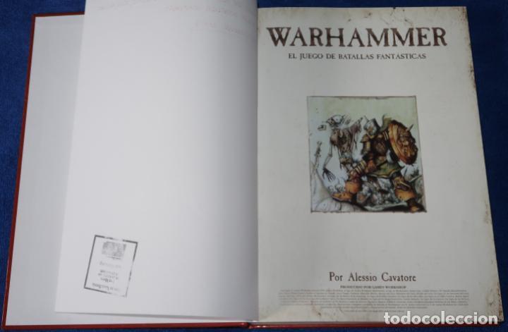 Juegos Antiguos: Warhammer - El juego de las batallas fantásticas - Games Workshop (2006) - Foto 3 - 270454153