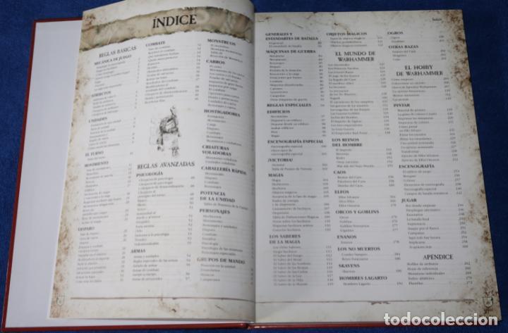 Juegos Antiguos: Warhammer - El juego de las batallas fantásticas - Games Workshop (2006) - Foto 4 - 270454153