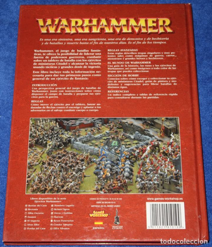 Juegos Antiguos: Warhammer - El juego de las batallas fantásticas - Games Workshop (2006) - Foto 10 - 270454153