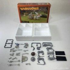 Juegos Antiguos: WARHAMMER - CARRUAJE DE TIRANOC - 016713 - INCOMPLETO. Lote 270530088