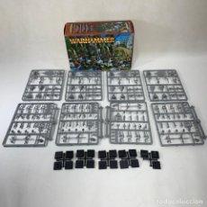 Juegos Antiguos: WARHAMMER - REGIMIENTO DE ARQUEROS ALTOS ELFOS - 062531 - INCOMPLETO. Lote 270531958