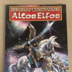 Juegos Antiguos: EJERCITO WARHAMMER ALTOS ELFOS GAMES WORKSHOP, CÓDIGO DE PRODUCTO 03030210001. Lote 270535158