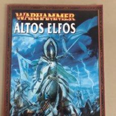 Juegos Antiguos: EJERCITO WARHAMMER ALTOS ELFOS GAMES WORKSHOP. Lote 270536928
