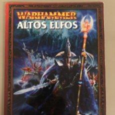 Juegos Antiguos: EJERCITO WARHAMMER ALTOS ELFOS GAMES WORKSHOP. Lote 270545398
