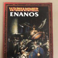 Juegos Antiguos: EJERCITO WARHAMMER ENANOS GAMES WORKSHOP. Lote 270545598