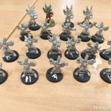 Giochi Antichi: LOTE 20 FIGURAS BLOOD BOWL EQUIPO ALTOS ELFOS ANTIGUA METAL 1993 GAMES WORKSHOP. Lote 271358173