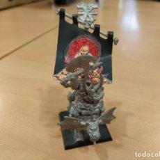 Giochi Antichi: ARBAAL EL INVENCIBLE FIGURA WARHAMMER FANTASY KHORNE ANTIGUA METAL GAMES WORKSHOP. Lote 271361678