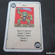 Giochi Antichi: HEROQUEST CARTA ORC. Lote 271491538