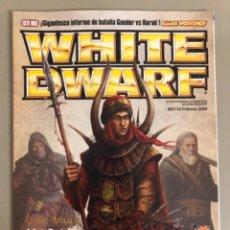 Juegos Antiguos: WHITE DWARF N 154, GAMES WORKSHOP WARHAMMER.. Lote 271521118