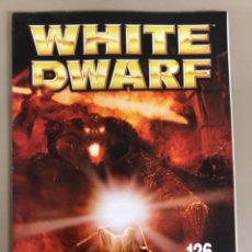 Juegos Antiguos: WHITE DWARF N 126, GAMES WORKSHOP WARHAMMER.. Lote 271521218