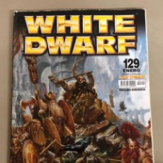 Juegos Antiguos: WHITE DWARF N 129, GAMES WORKSHOP WARHAMMER.. Lote 271521453