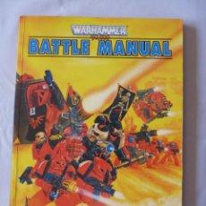 Juegos Antiguos: WARHAMMER 40000 BATTLE MANUAL 1992 EN INGLES. Lote 271557598