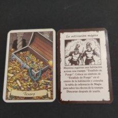 Giochi Antichi: HEROQUEST CARTA TESORO. Lote 288593043