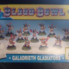 Juegos Antiguos: BLOOD BOWL GALADRIETH GLADIATORS. Lote 272482588