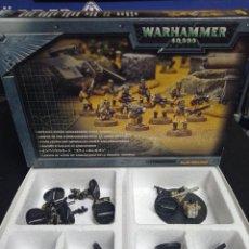 Juegos Antiguos: WARHAMMER 40000 GUARDIA IMPERIAL GUARD LEGION DE ACERO ARMAGEDDON STEEL LEGION. Lote 272768508