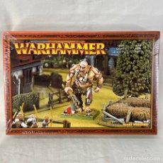 Jogos Antigos: WARHAMMER GIGANTE CAJA NUEVA PRECINTADA JUEGO ROL. Lote 272986243