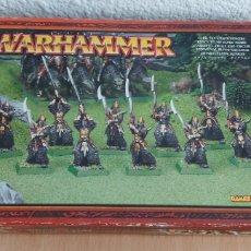 Giochi Antichi: WARRIORS REGIMENT , REGIMIENTO DE ELFOS OSCUROS. Lote 276190563