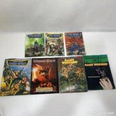 Giochi Antichi: LOTE LIBROS WARHAMMER - EPIC 40.000 - EL UNIVERSO DE LOS JUEGOS / CODEX GUARDIA IMPERIAL / REGLAMENT. Lote 276709348