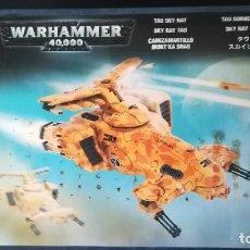 Juegos Antiguos: WARHAMMER 40K CABEZAMARTILLO TAU. Lote 278819613