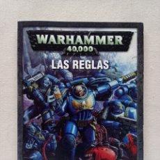 Juegos Antiguos: REVISTA LIBRO WARHAMMER 40000 LAS REGLAS REGLAMENTO 2004 GAMES WORKSHOP ESPAÑA JUEGOS ROL + MACRAGGE. Lote 286818393