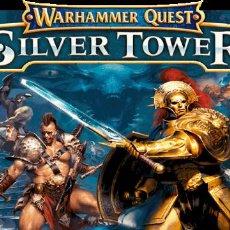 Juegos Antiguos: WARHAMMER QUEST SILVER TOWER - SIN MINIATURAS. Lote 286947933