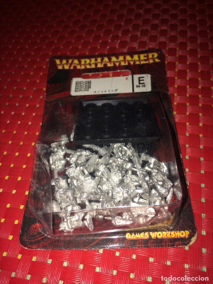 WARHAMMER - SNOTLINGS - METAL - BLISTER SIN ABRIR - CITADEL - AÑO 2004 (Juguetes - Rol y Estrategia - Warhammer)