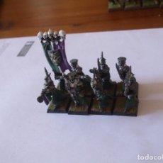 Juegos Antiguos: WARHAMMER (OLDHAMMER): 8 TUMULARIOS EJERCITO NO MUERTOS CONDES VAMPIRO GUARDIA DE LOS TUMULOS. Lote 287952423