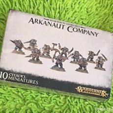 Juegos Antiguos: WARHAMMER ARKANAUT COMPANY AGE OF SIGMAR. Lote 288202013