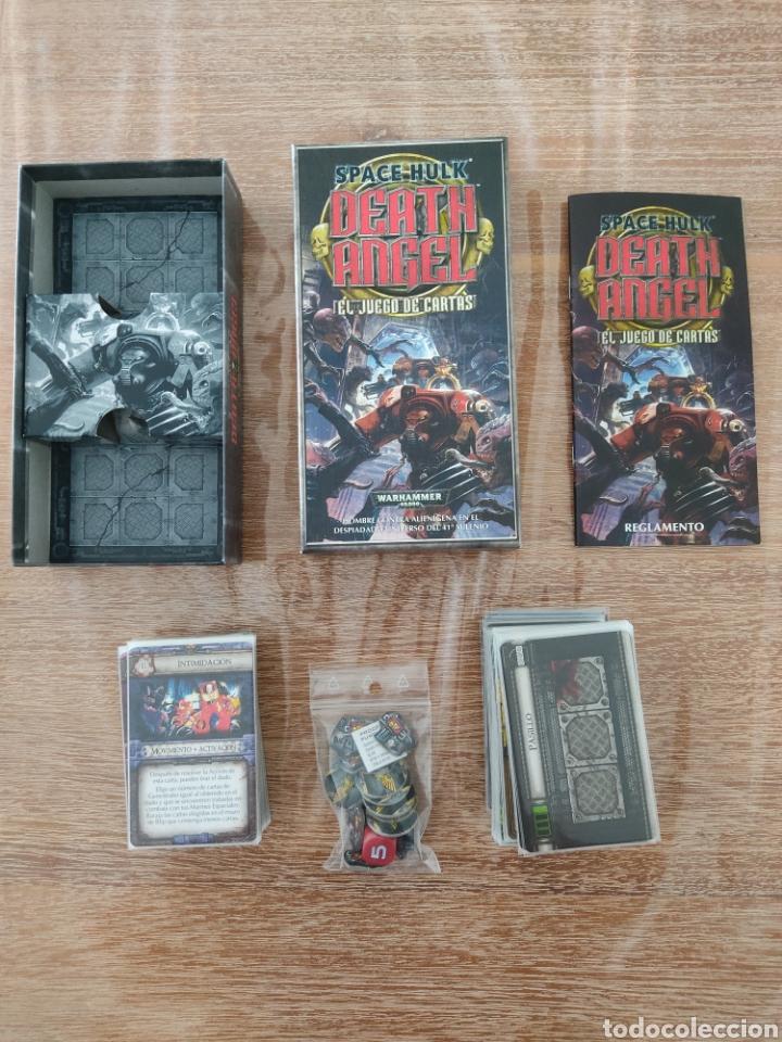 Juegos Antiguos: Space Hulk Death Angel + 4 Expansiones - warhammer - MISIONES - TIRANIDOS - ALA DE MUERTE - MARINES - Foto 4 - 288349803