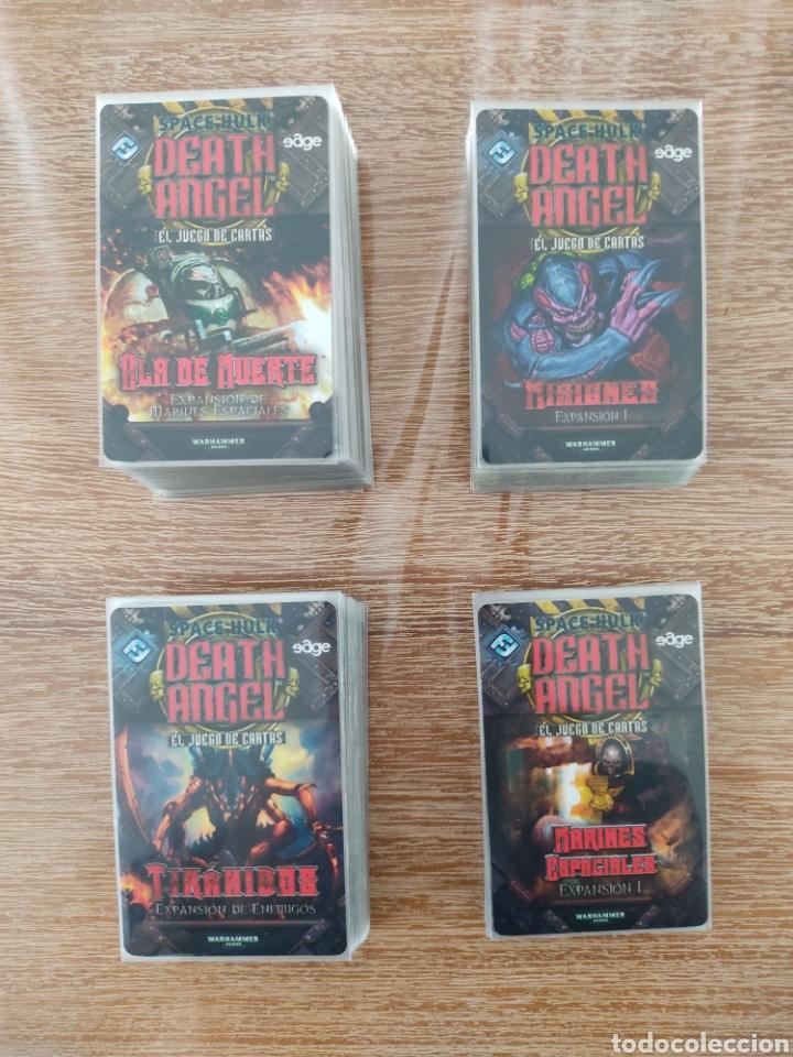 Juegos Antiguos: Space Hulk Death Angel + 4 Expansiones - warhammer - MISIONES - TIRANIDOS - ALA DE MUERTE - MARINES - Foto 5 - 288349803
