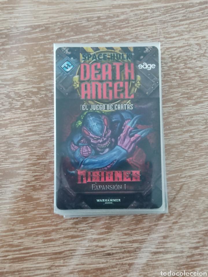 Juegos Antiguos: Space Hulk Death Angel + 4 Expansiones - warhammer - MISIONES - TIRANIDOS - ALA DE MUERTE - MARINES - Foto 6 - 288349803