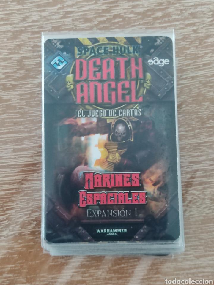 Juegos Antiguos: Space Hulk Death Angel + 4 Expansiones - warhammer - MISIONES - TIRANIDOS - ALA DE MUERTE - MARINES - Foto 7 - 288349803