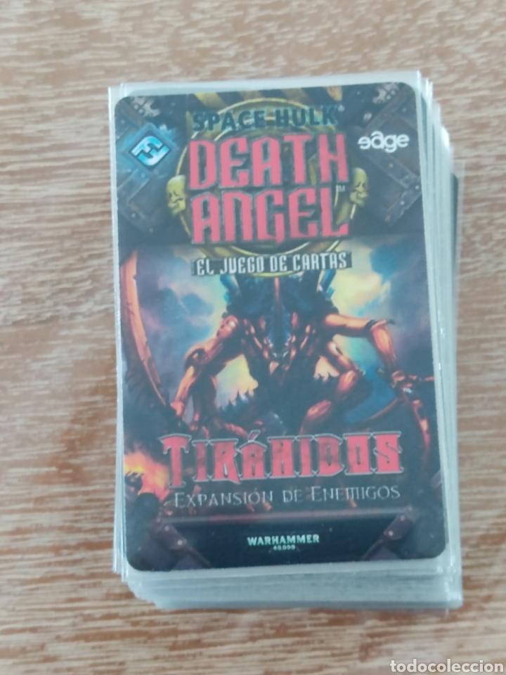 Juegos Antiguos: Space Hulk Death Angel + 4 Expansiones - warhammer - MISIONES - TIRANIDOS - ALA DE MUERTE - MARINES - Foto 8 - 288349803
