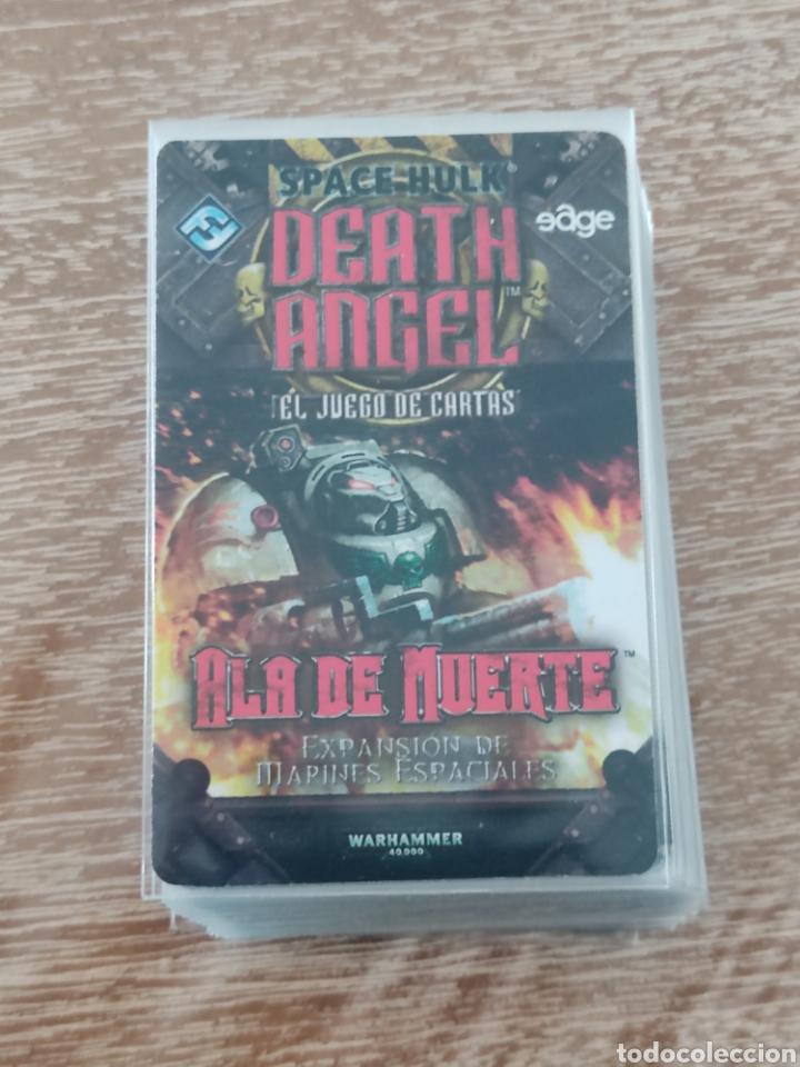 Juegos Antiguos: Space Hulk Death Angel + 4 Expansiones - warhammer - MISIONES - TIRANIDOS - ALA DE MUERTE - MARINES - Foto 9 - 288349803