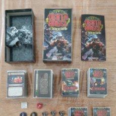 Juegos Antiguos: SPACE HULK DEATH ANGEL + 4 EXPANSIONES - WARHAMMER - MISIONES - TIRANIDOS - ALA DE MUERTE - MARINES. Lote 288349803