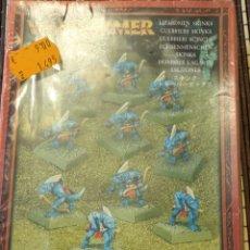 Juegos Antiguos: WARHAMMER HOMBRES LAGARTO. Lote 288503363