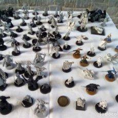 Giochi Antichi: LIQUIDACION LOTE DE FIGURAS WARHAMMER PARA PINTAR ,PLOMO 22 Y PLASTICO 91,. Lote 288909843