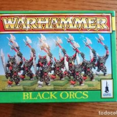 Juegos Antiguos: CAJA DE WARHAMMER BLACK ORCS CON 10 UNIDADES.. Lote 289017383