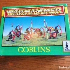 Juegos Antiguos: CAJA DE WARHAMMER GOBLINS CON 25 UNIDADES.. Lote 289017543