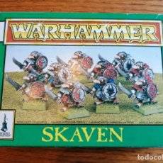 Juegos Antiguos: CAJA DE WARHAMMER SKAVEN CON 10 UNIDADES.. Lote 289017668
