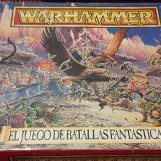 Juegos Antiguos: CAJA WARHAMMER FANTASY 4 EDICION. Lote 289359153
